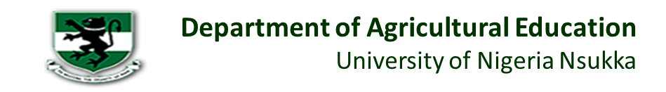 Dept of Agricultural Education