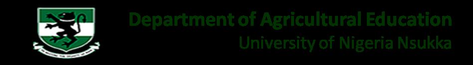 Dept of Agricultural Education